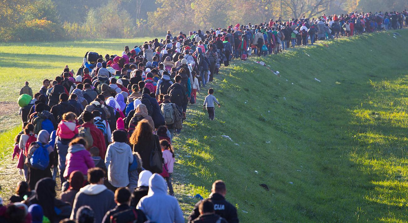 Hunderttausende auf der Flucht
