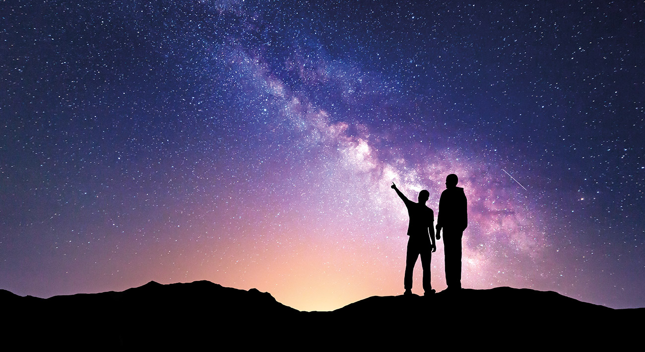 """Ja, ich glaube an den Big Bang …"""